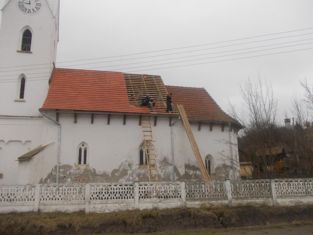 Reparatie van het dak